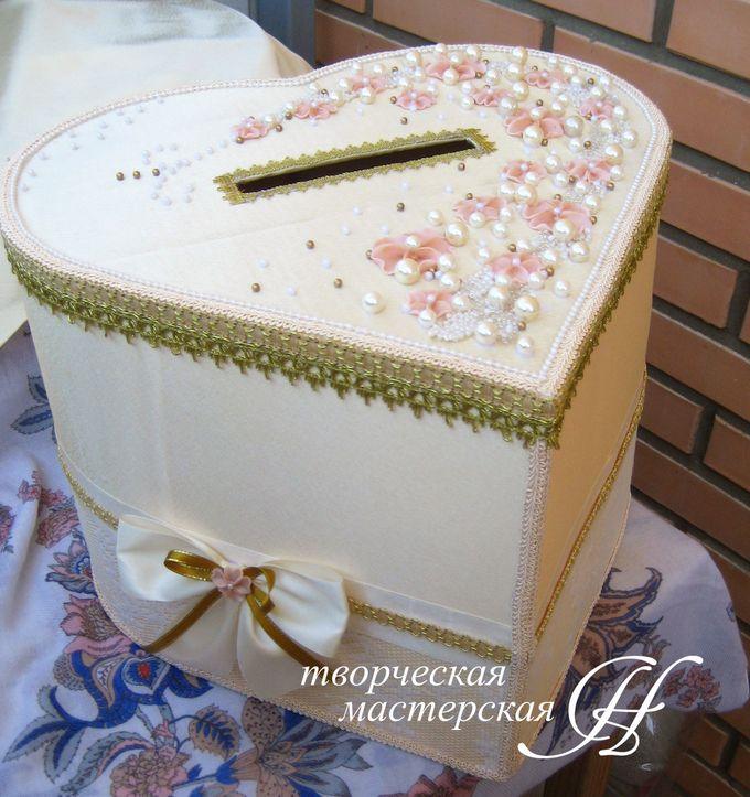 Своими руками свадебная коробка для даров