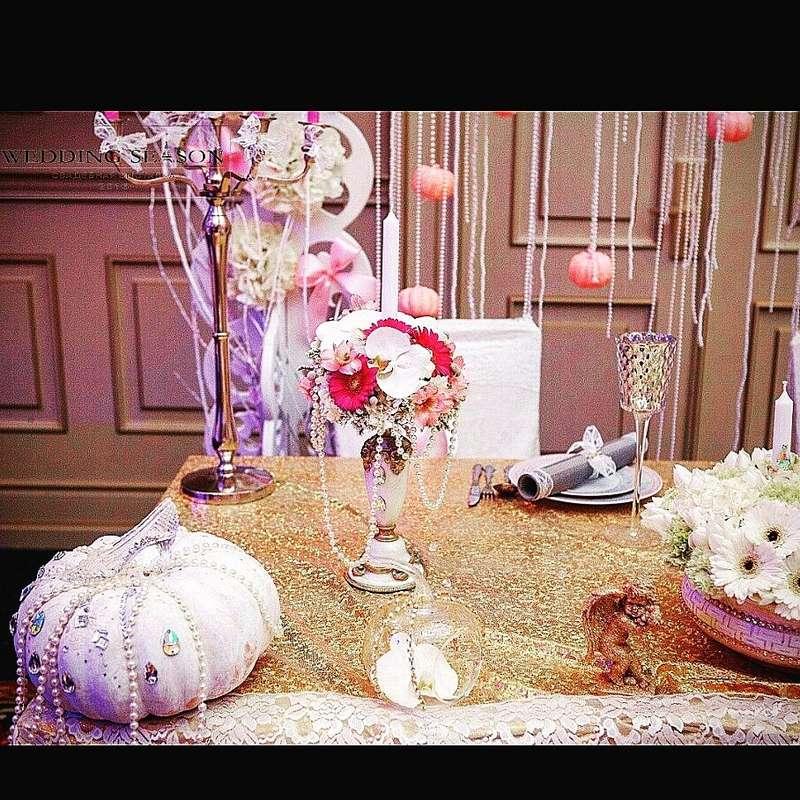 """Свадьба в стиле """"Золушка"""" - фото 10452370 """"L.A.F."""" - студия флористики"""