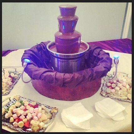 Шоколадный фонтан - от 80 до 100 человек