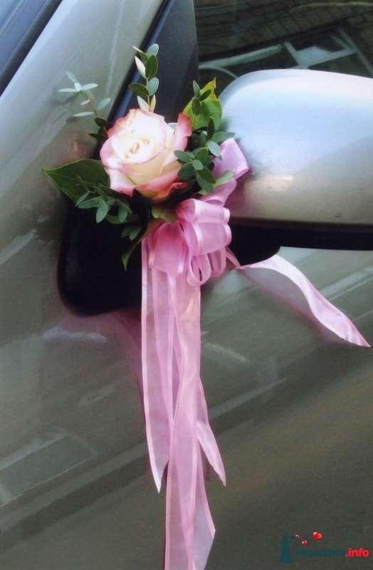 Цветы на ручки свадебных машин своими руками 16