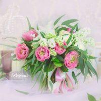 "Букет невесты ""Французский тюльпан"""