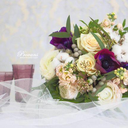 """Букет невесты """"Белоснежка"""""""
