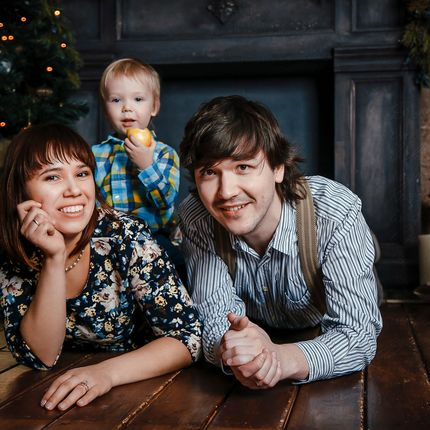 Семейная фотосъёмка, 1,5 часа