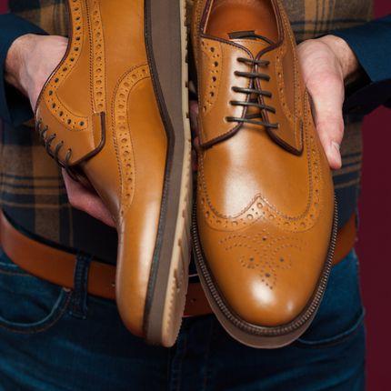 Туфли для жениха Броги