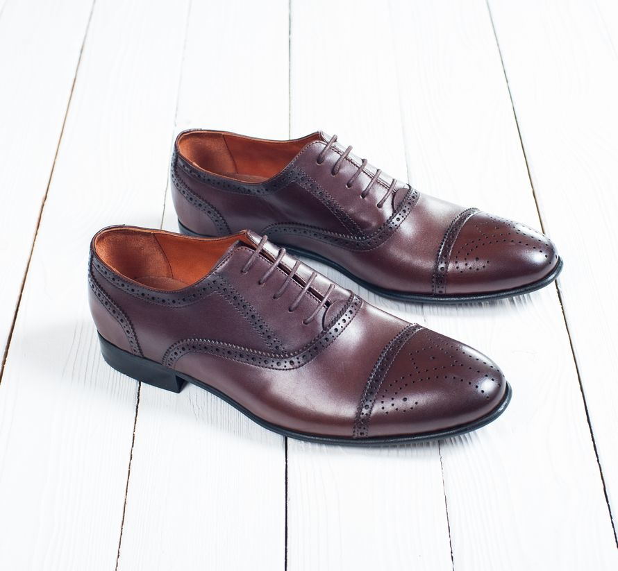 Обувь жениха Оксфорды