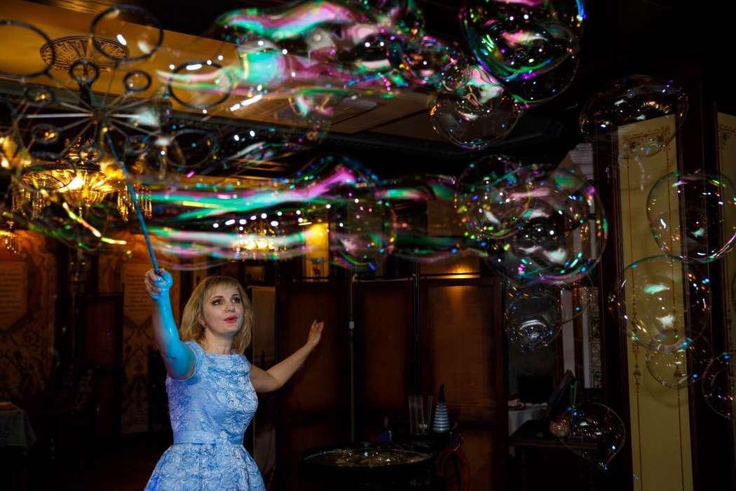 """Фото 17144100 в коллекции Свадебное шоу пузырей - Шоу мыльных пузырей """"Магия"""""""