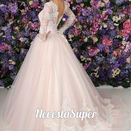 """Свадебное платье """"Пыльная роза"""""""
