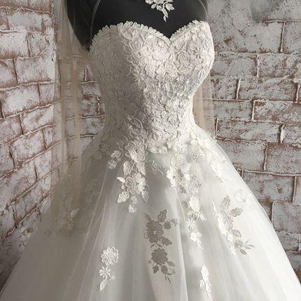 """Свадебное платье """"Флёр"""""""
