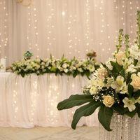 Стол жениха с невестой