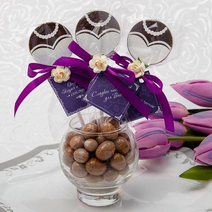 Шоколадные бонбоньерки