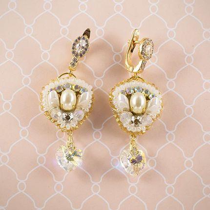 """Серьги """"Gold perl"""""""