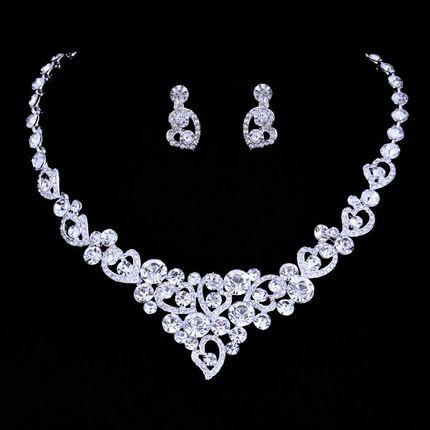 Комплект - ожерелье и серьги, kt01000