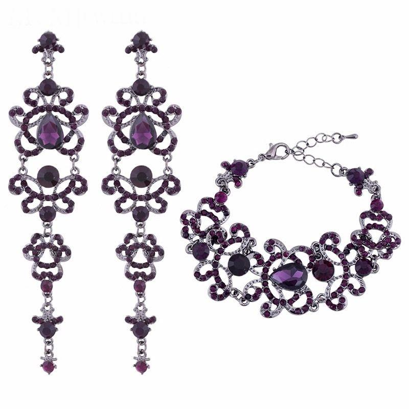 Комплект - серьги и браслет, kt00801