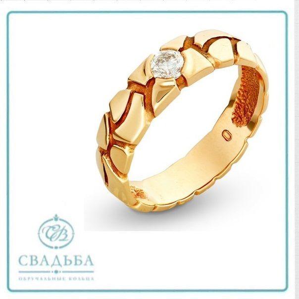 42a1e7e4b66e Обручальное кольцо с красного золота   Салон помолвочных и ...