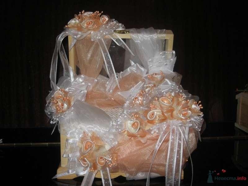 """Фото 33772 в коллекции Свадебные аксессуары - Студия флористики """"Вистерия"""""""