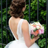 Свадебная прическа и макияж для Наденьки! Фото Катя Никитина