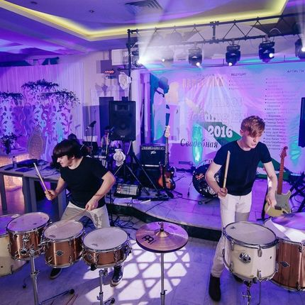 Шоу барабанщиков Drum Style show