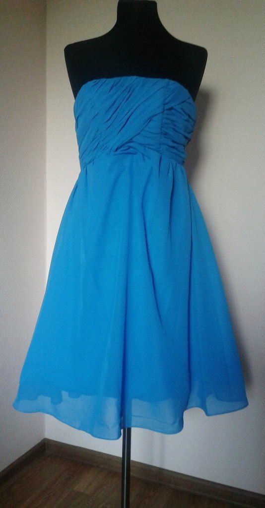 """Платье """"Голубой цветок"""""""