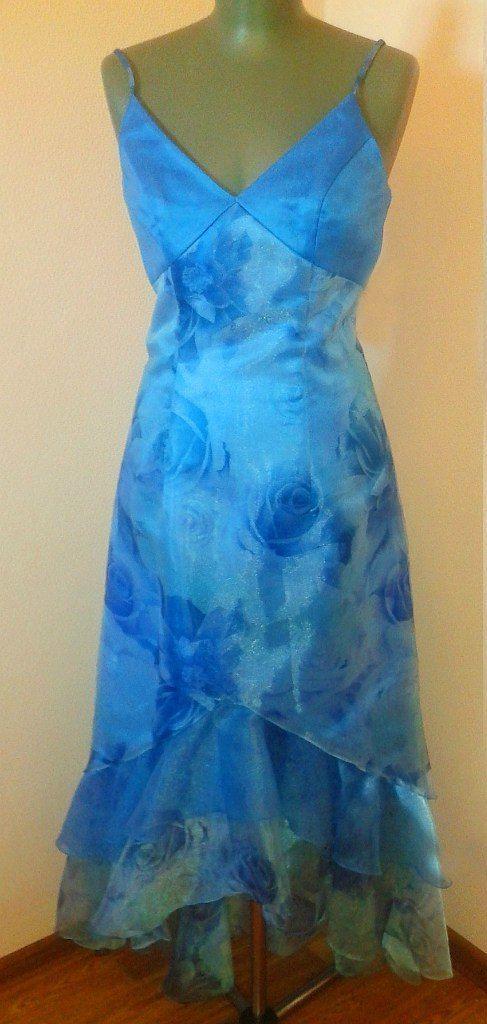 """Платье """"Голубая роза"""""""