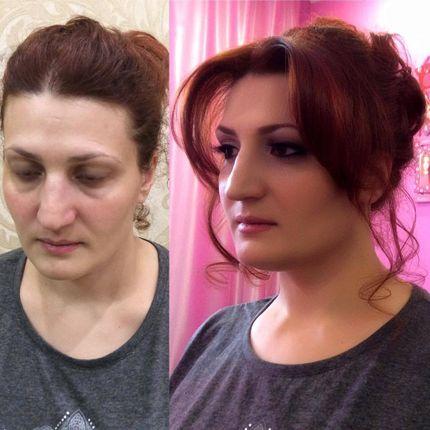 Омолаживающий макияж и причёска для мамы невесты/жениха