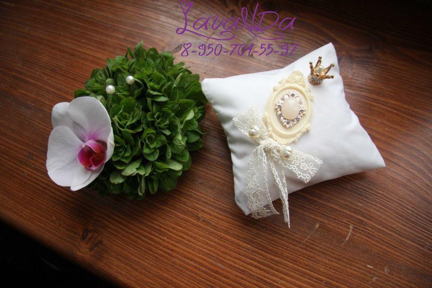 подушечки для колец выполнены для участия в конкурсе! - фото 11047306 Студия декора LavaNDa