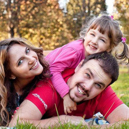 Семейная фотосессия 3 часа
