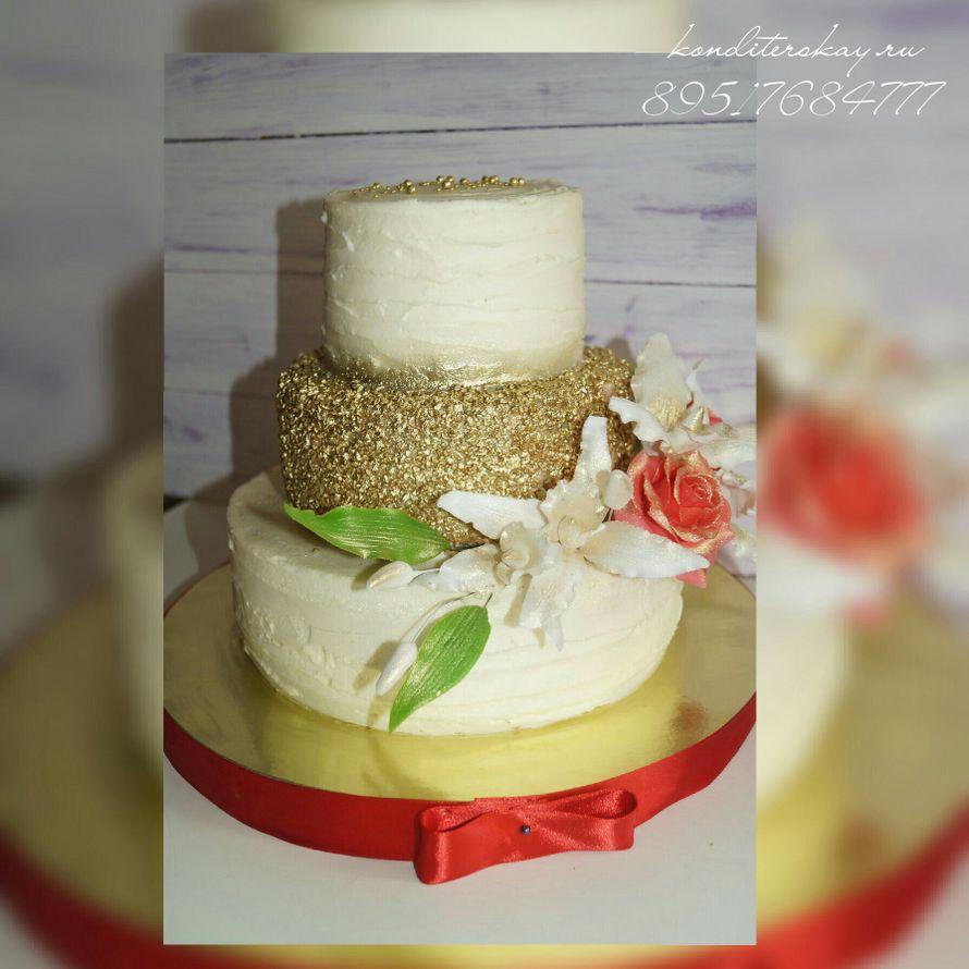 Фото 10959714 в коллекции Свадебные - Свадебные торты Iriska