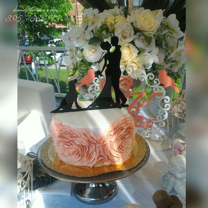 Фото 10959724 в коллекции Свадебные - Свадебные торты Iriska
