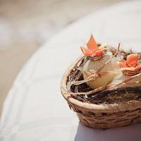 Корзинка для колец на  свадьбе MarryBerry