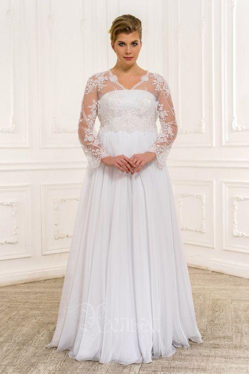 Свадебных платьев для полных девушек