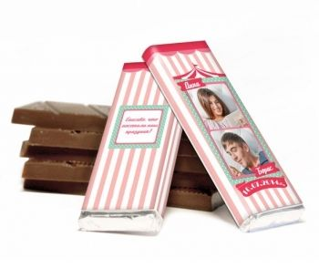 Нежный свадебный шоколад, 20 грамм