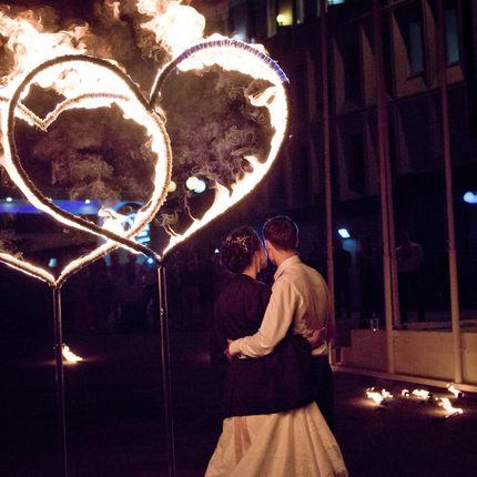 Огненные инсталляции для огненного шоу