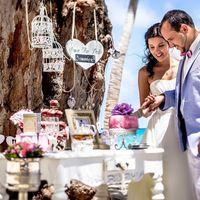 Свадьба в Доминикане в винтажном стиле