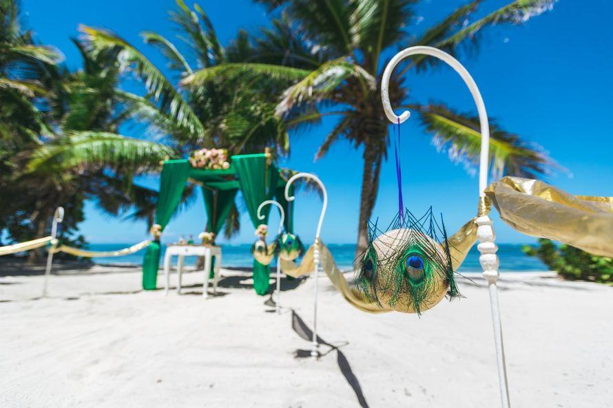 Фото 17358556 в коллекции Изумрудная свадьба в Доминикане на частном пляже Кариббеан {Мария и Артем} - Caribbean Wedding - свадьба в Доминикане