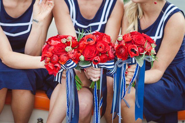 букет невесты с морском стиле - фото 11151730 Оформители Фабрика фантазии