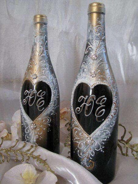 Именное шампанское. - фото 880527 Татьяна Уразаева - свадебные аксессуары