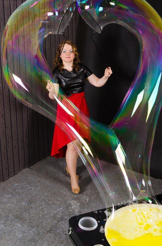 Фото 11100352 в коллекции Шоу для Вашего торжества - Шоу мыльных пузырей Евгении Коростелевой