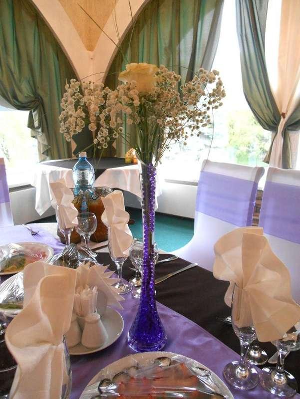 Фото 11100938 в коллекции Свадьба в фиолетово- сиреневом - Воздушный бум - флористика и декор