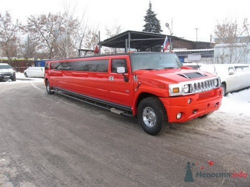 Лимузин Хаммер Красный Дракон - фото 10907 Авто-Делюкс - прокат авто