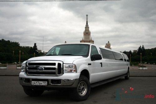 Лимузин на свадьбц Форд Экскершн 29 мест