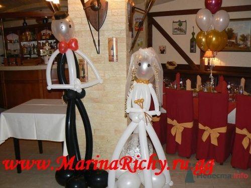 Фигурки жениха и невесты - фото 2248 Marina Richy - частные оформители