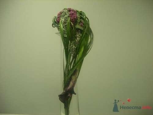 Каплевидный букет(дизайнерская работа) - фото 1110 Флорист-дизайнер Елена