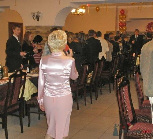 В начале свадебного торжества