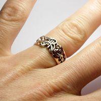 Обручальные кольца с инициалами для Анны и Владимира
