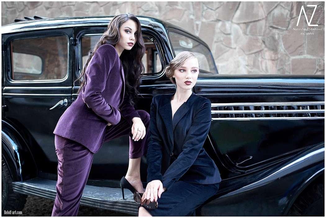 """Фото 11298244 в коллекции Выездная фотосессия в стиле """"ретро"""" - """"Y&Y"""" beauty corporation макияж и прически"""