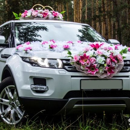 Авто на сватьбу Range Rover Evoque