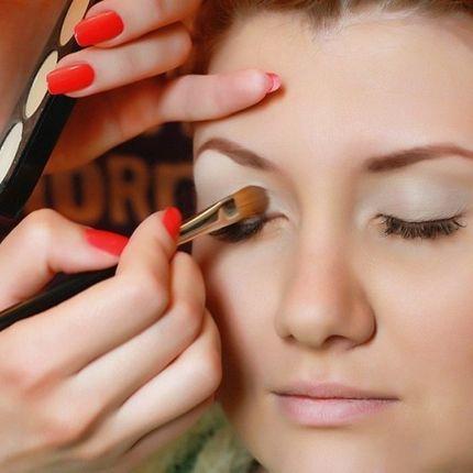 Вечерний макияж для гостей 1 час