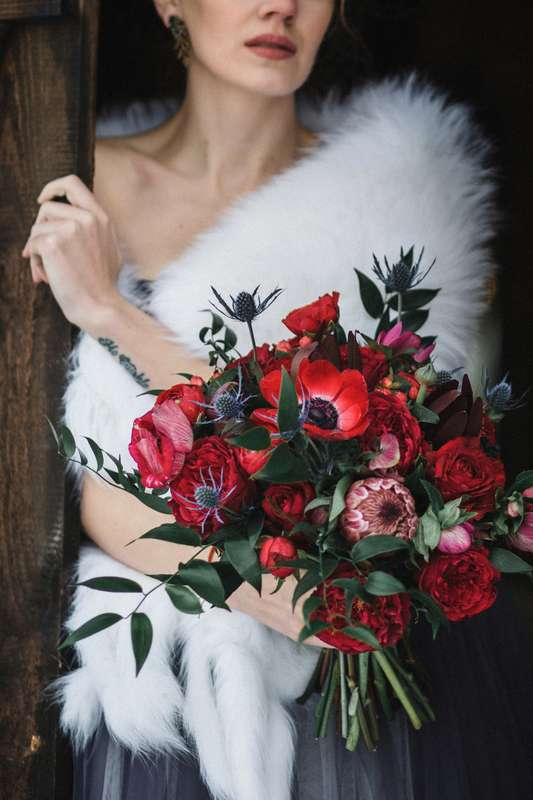 "Фото 16606642 в коллекции Love Story Ани и Антона ""Загадочная Шотландия"" - Мастерская флористики и декора Blooming Twig"