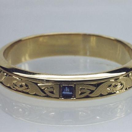 Арт 006 Обручальное кольцо (мужское)