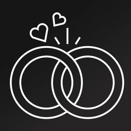Обручальное кольцо из других металлов под ключ